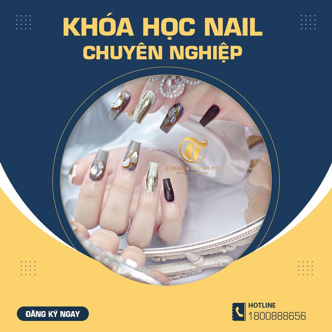 Khóa học Nail chuyên nghiệp Chihun