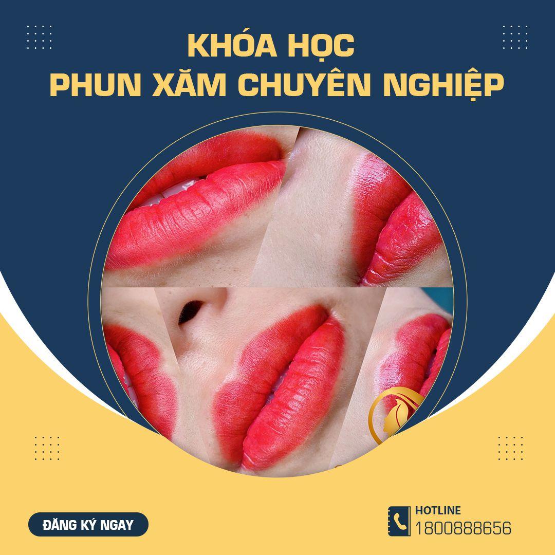 Khóa học phun xăm chuyên nghiệp Chihun