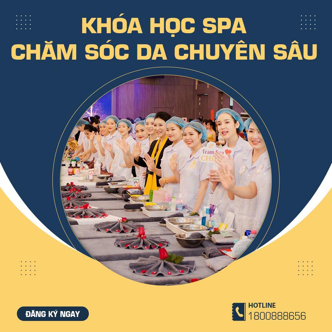 Khóa học spa chăm sóc da chuyên sâu Chihun