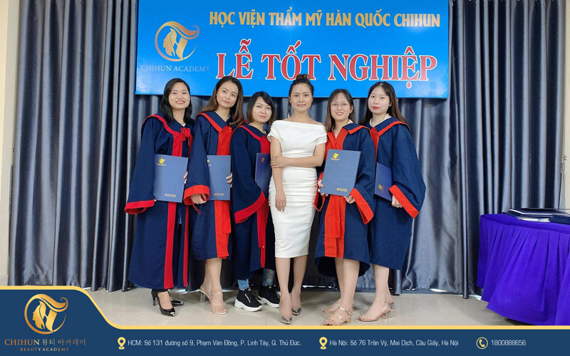 lễ tốt nghiệp Chihun Academy