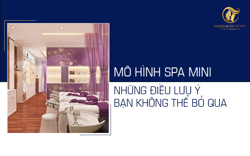 Kinh doanh mô hình spa mini