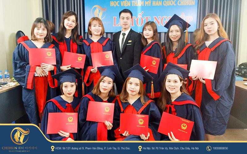 Lễ tốt nghiệp tại Chihun Academy 10/10/2020
