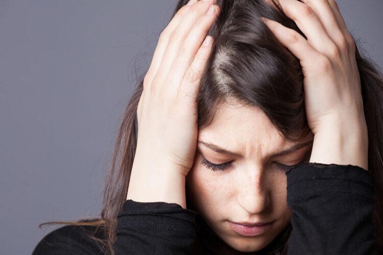 rụng tóc do căng thẳng